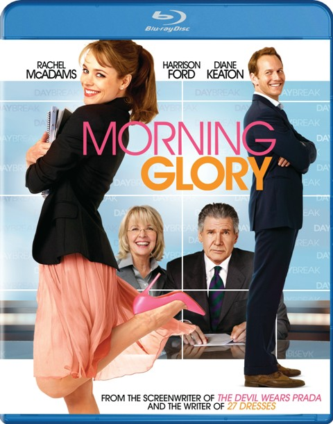 Morning Glory was released on Blu-Ray and DVD on March 8th, 2011