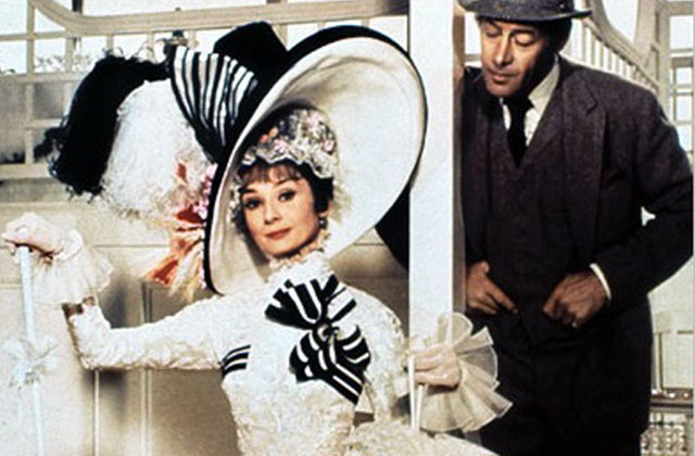 Wouldn't it Be Loverly?: Eliza (Audrey Hepburn) and Higgins (Rex Harrison) in 'My Fair Lady'