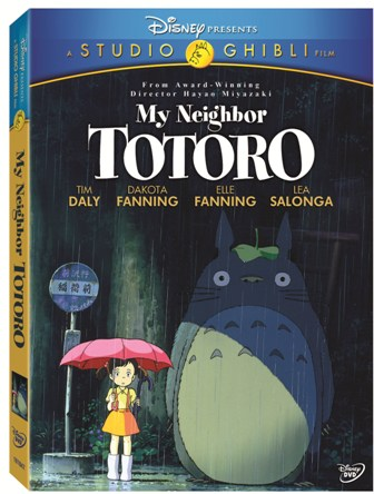 My Neighbor Totoro was released on DVD on March 2nd, 2010.