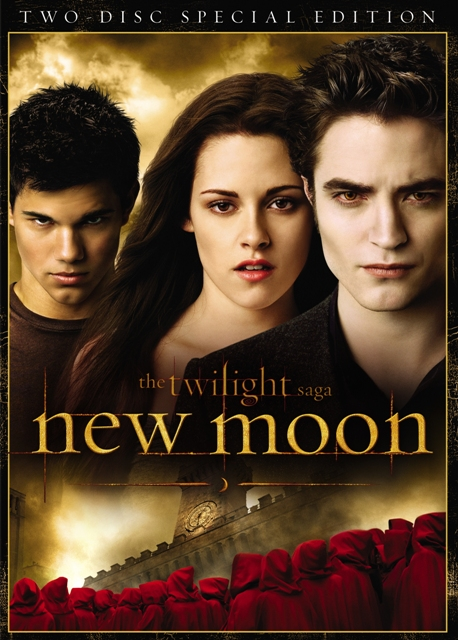 The Twilight Saga: New Moon will be released on Blu-ray and DVD on March 20th, 2010.