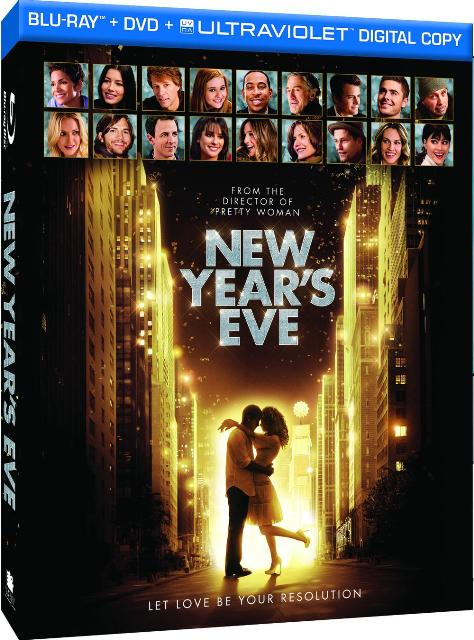 New Year's Eve was released on Blu-ray and DVD on May 1, 2012