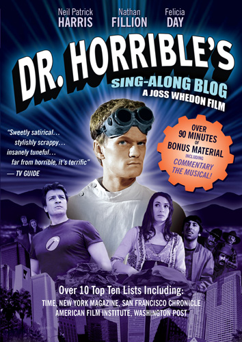 Dr. Horrible's Sing Along Blog was released on DVD on June 2nd, 2009.
