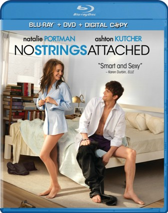 No Strings Attached was released on Blu-Ray and DVD on May 10, 2011