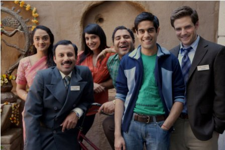 Anisha Nagarajan as Madhuri, Rizwan Manji as Rajiv, Rebecca Hazelwood as Asha, Parvesh Cheena as Gupta, Sacha Dhawan as Manmeet, Ben Rappaport as Todd.
