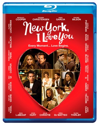 New York, I Love You was released on Blu-Ray and DVD on February 2nd, 2010.