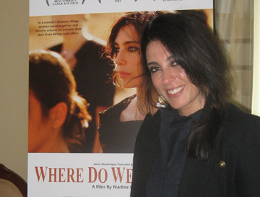 Nadine Labaki in Chicago, April 30th, 2012