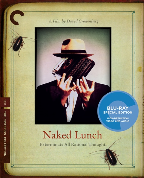 Naked Lunch was released on Blu-ray on April 9, 2013