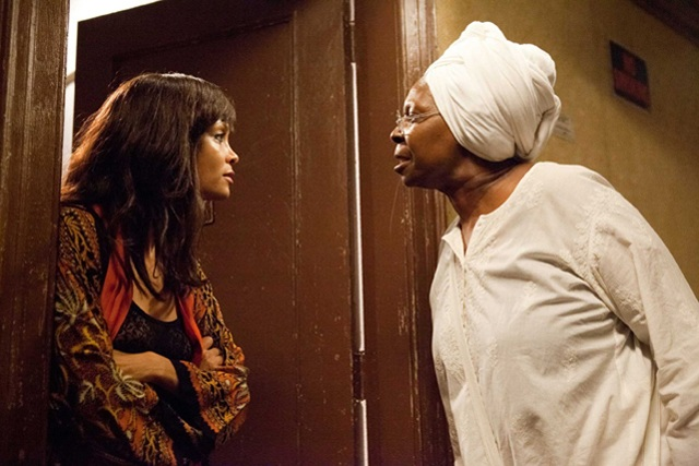 Confronting Themselves: Thandie Newton as Tangie and Whoopi Goldberg as Alice in 'For Colored Girls'