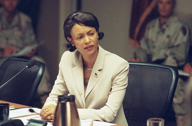 Secretary of the State: Thandie Newton as Condoleeza Rice in 2008's 'W.'