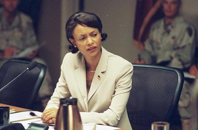 Secretary of the State: Thandie Newton as Condoleeza Rice in 2008's 'W.'