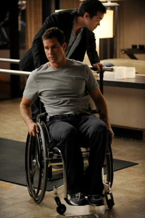 Dylan Walsh stars in the mid-season premiere of Nip/Tuck on FX on January 6th, 2009.