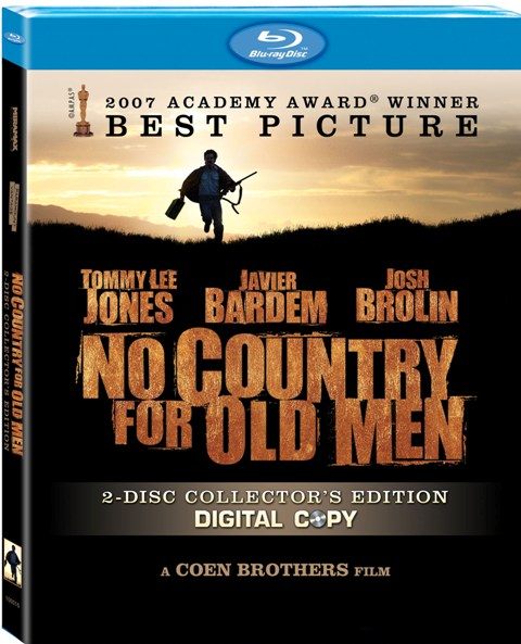 No Country For Old Men was released on Blu-Ray on April 7th, 2009.