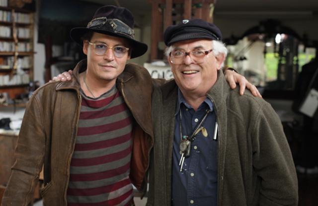 Ralph Steadman, Johnny Depp