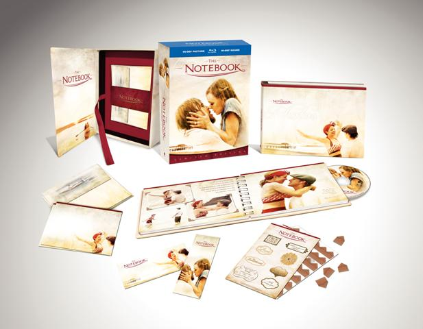 The Notebook Limited Edition Gift Set is released by Warner Brothers Home Video on January 20th, 2009.