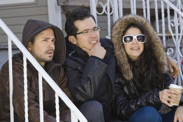 Freddy Rodriguez, Debra Messing, John Leguizamo, and Elizabeth Pena star in Nothing Like the Holidays