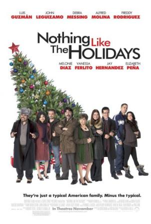 Nothing Like the Holidays from Overture Films opens on December 12, 2008.