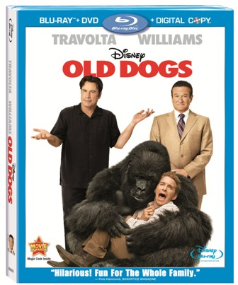 Old Dogs was released on Blu-ray and DVD on March 9th, 2010.