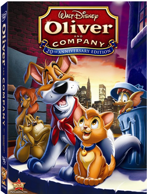 Oliver and Company was released by Walt Disney Home Video on February 3rd, 2009.