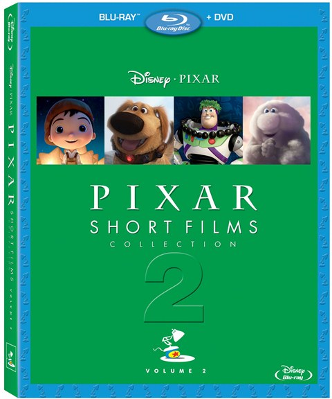 Pixar Short Films Collection: Volume 2 was released on Blu-ray and DVD on November 13, 2012
