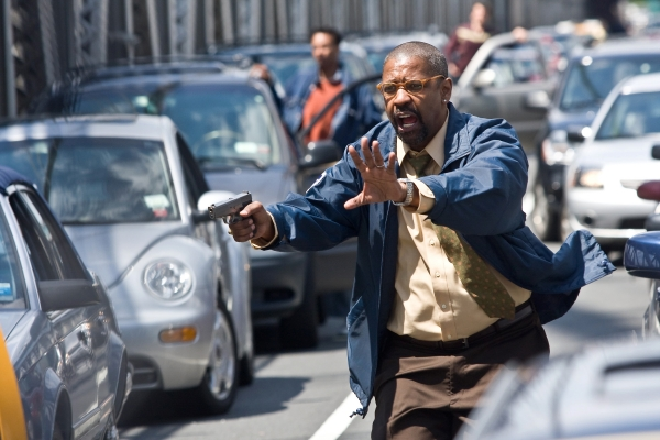 Denzel Washington in Columbia Pictures' action thriller THE TAKING OF PELHAM 123, also starring John Travolta.