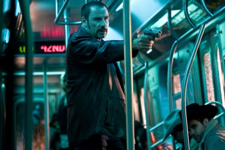John Travolta in Columbia Pictures' action thriller THE TAKING OF PELHAM 123, also starring Denzel Washington.