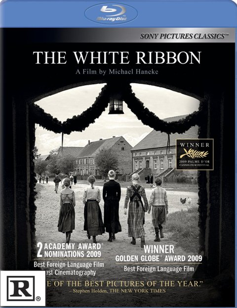 The White Ribbon was released on Blu-ray and DVD on June 29th, 2010