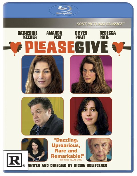 Please Give was released on Blu-ray and DVD on October 19th, 2010