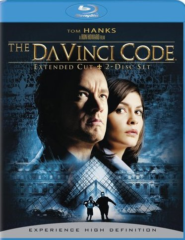 The Da Vinci Code was released on Blu-Ray on April 28th, 2009.