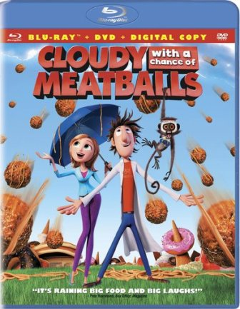 Cloudy With a Chance of Meatballs was released on Blu-Ray and DVD on January 5th, 2010.
