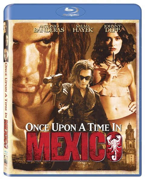 Once Upon a Time in Mexico was released on Blu-Ray on January 4th, 2011.