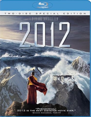 2012 was released on Blu-Ray and DVD on March 2nd, 2010.