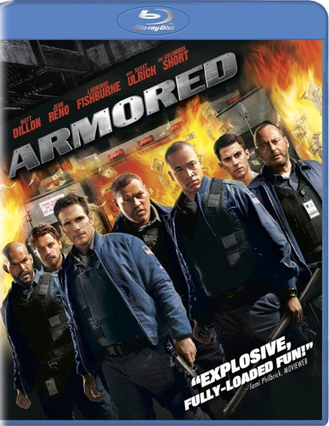 Armored was released on DVD and Blu-ray on March 16th, 2010..