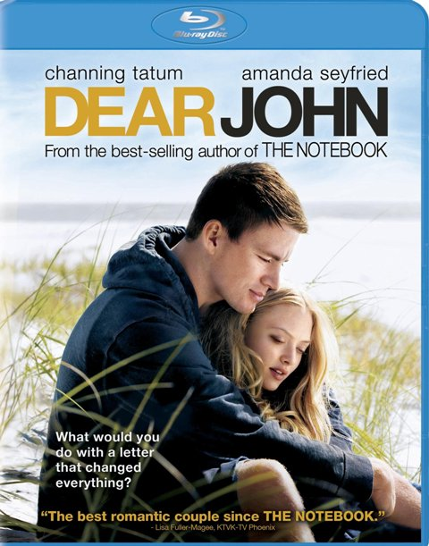Dear John was released on Blu-ray and DVD on May 25th, 2010
