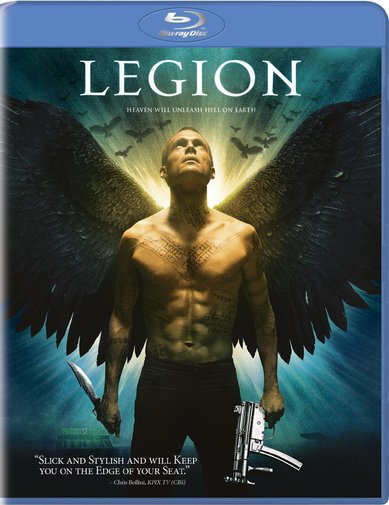 Legion was released on Blu-Ray and DVD on May 11th, 2010.