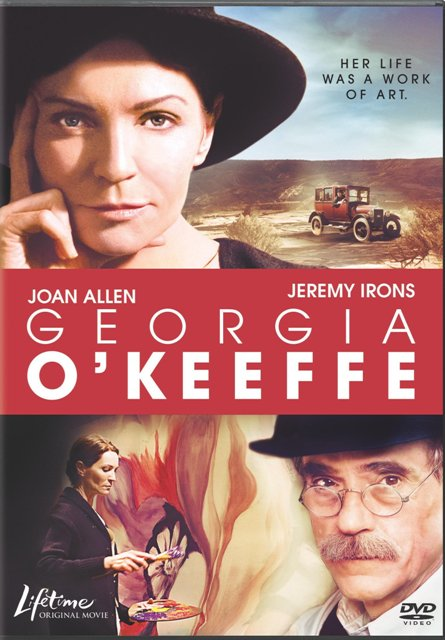 Georgia O'Keeffe was released on DVD on April 27th, 2010.