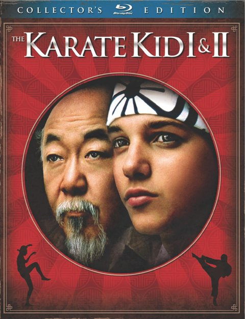 The Karate Kid I and II: Collector's Edition was released on Blu-Ray and DVD on May 11th, 2010.