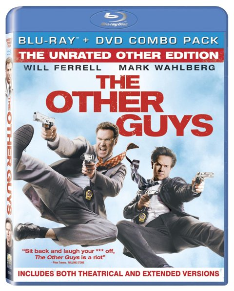 The Other Guys was released on Blu-ray and DVD on December 14th, 2010