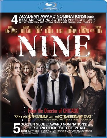 Nine will be released on Blu-Ray and DVD on May 4th, 2010.