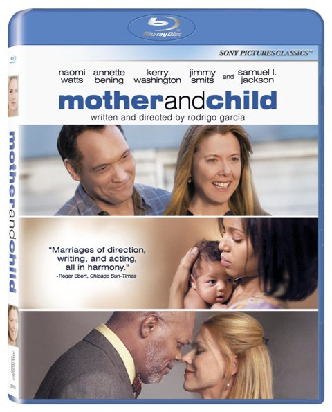 Mother and Child was released on Blu-Ray and DVD on Dec. 14, 2010.