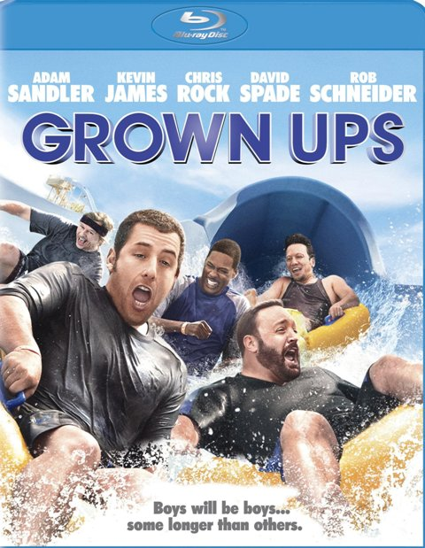 Grown Ups was released on Blu-ray and DVD on November 9th, 2010