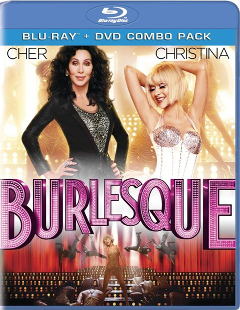 Burlesque was released on Blu-Ray and DVD on March 1, 2011.
