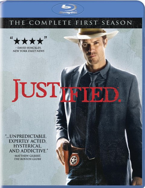 Justified: The Complete First Season was released on Blu-Ray and DVD on January 18th, 2011
