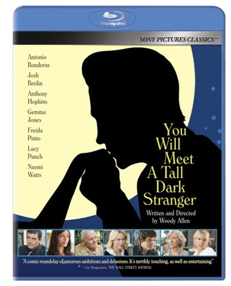 You Will Meet a Tall Dark Stranger was released on Blu-Ray and DVD on Feb. 15, 2011.