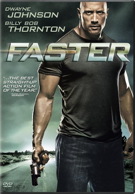 Faster was released on Blu-Ray and DVD on March 1st, 2011