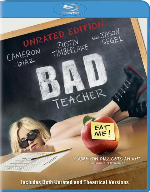 Bad Teacher was released on Blu-ray and DVD on October 18th, 2011