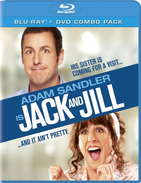 Jack and Jill was released on Blu-ray and DVD on March 6, 2012