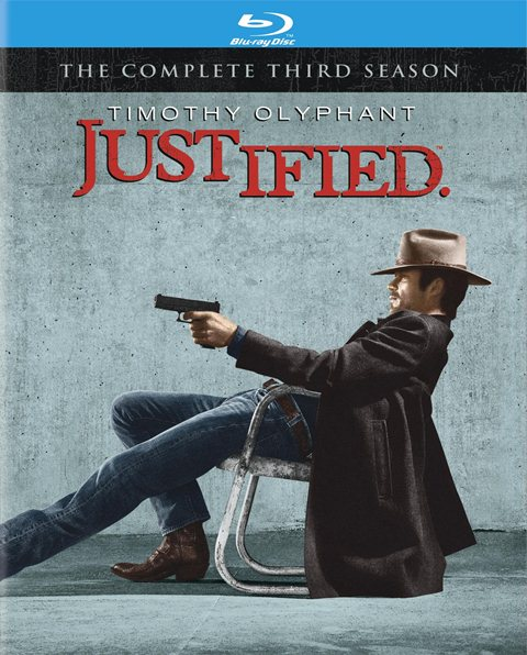 Justified: The Complete Third Season was released on Blu-ray and DVD on January 3, 2012