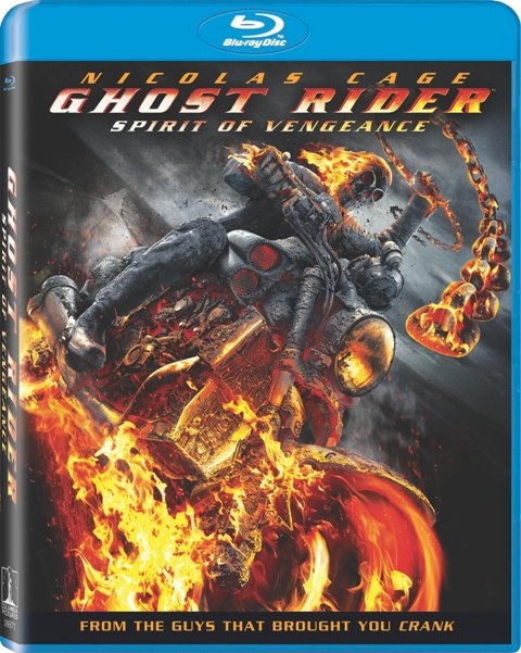 Ghost Rider: Spirit of Vengeance was released on Blu-ray and DVD on June 12, 2012