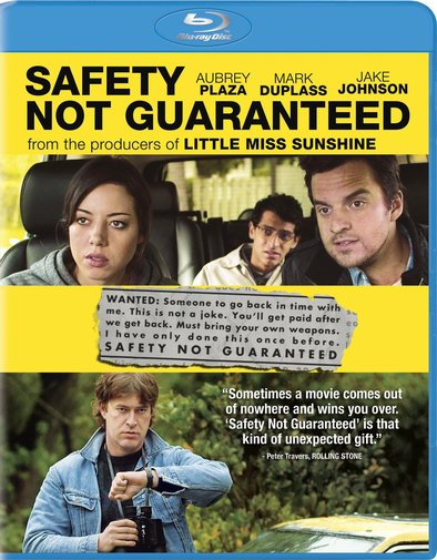 Safety Not Guaranteed was released on Blu-ray and DVD on October 30, 2012