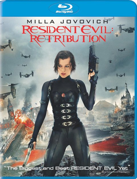 Resident Evil: Retribution was released on Blu-ray and DVD on December 21, 2012